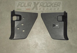 Coppia pannelli di rivestimento cover sotto cruscotto vano piedi BTR5556 Range Rover 2 P38