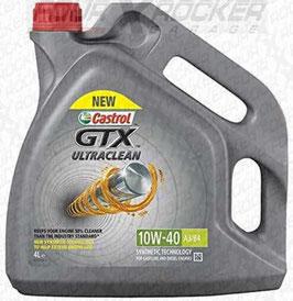 OLIO MOTORE CASTROL GTX ULTRACLEAN A3/B4 10W-40 4L