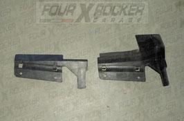 Coppia cover protezioni convogliatori aria radiatore raffreddamento motore ESR2450 - ESR2451 Range Rover 2 P38