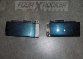 Coppia cover modanature sotto fanale posteriore Mitsubishi Pajero Pinin