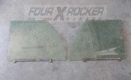 Vetri cristalli scendenti portiere anteriori Land Rover Discovery 1 300tdi 5 porte