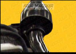SNORKEL TUBOLARE METALLICO LAND ROVER DEFENDER FINO AL 200 TDI  /  FXR01564