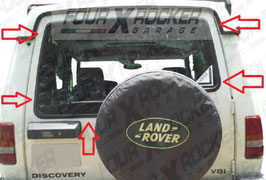 LUNOTTO VERDE TERMICO CON 3° STOP  LAND ROVER DISCOVERY 1'SERIE 300TDi 94>98 / FXR9GKY4