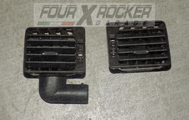 Coppia bocchette aria aerazione abitacolo Range Rover 2 P38