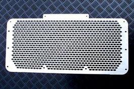 GRIGLIA MASCHERINA CALANDRA ANTERIORE RADIATORE INOX LAND ROVER DEFENDER / FXR-BMGAL220