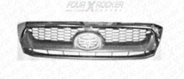 GRIGLIA MASCHERINA RADIATORE CROMATA / SILVER TOYOTA HILUX  08/10 / FXR-VZ8WG
