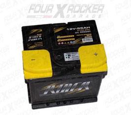 BATTERIA AUTO RIDER 55534H 55Ah 12V 510A DX L1