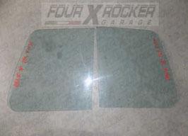 Vetri cristalli mezzi fissi posteriori Mitsubishi Pajero 2 (V20) - 3 porte