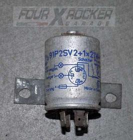 Relè modulo indicatore lampeggiante HELLA 91P2SV2+1x21W-12V Land Rover Serie 3
