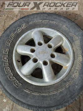 Cerchio in lega originale r15 Ford Maverick Nissan terrano