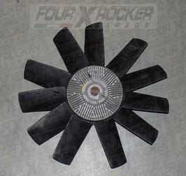 Ventola raffreddamento motore + giunto viscoso viscostatico Range Rover 2 P38