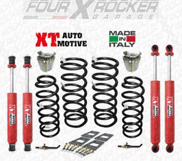 ASSETTO KIT DI RIALZO  XT AUTOMOTIVE +6 CM COMPLETO EXTREME PRO VERSION PER NISSAN PATROL GR Y60