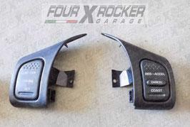 Coppia interruttori pulsanti multifunzione sterzo volante Jeep Grand Cherokee WJ 99-04
