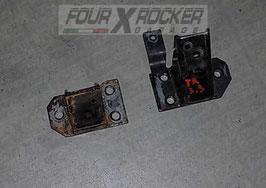 Coppia attacchi telaio zampe supporti motore Nissan Patrol TR 3.3