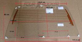 LUNOTTO VETRO POSTERIORE TERMICO PER HARDTOP IN VETRORESINA SUZUKI SAMURAI - SJ410 - SJ413 dal '82 / FXRQN8TK