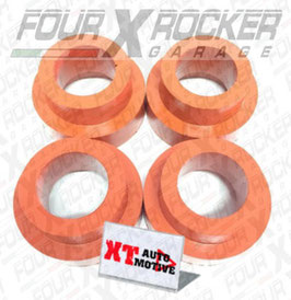 KIT N°4 SPESSORI RIALZO MOLLE +5cm LAND ROVER DEFENDER 90 - DISCOVERY 1 / FXRSPES.LR