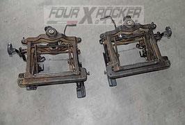 Coppia corsie sedili originali anteriori Mitsubishi Pajero 2 GLS 5 porte