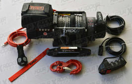"""VERRICELLO TYREX 8000 LB CAVO SINTETICO 12V SERIE BLACK """"COMPATTO"""" /  FXR-8000SP"""
