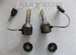 COPPIA LAMPADE LAMPADINE LED FARO H7 12-24V 40W
