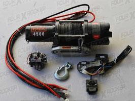 VERRICELLO TYREX ATV UTV 4500 LB CAVO SINTETICO SERIE BLACK - FXR4500SP