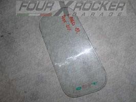 Vetro cristallo lunotto piccolo posteriore DX (lato guida) Land Rover Serie 3