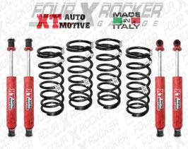 ASSETTO KIT DI RIALZO XT AUTOMOTIVE +4/+5cm PER LAND ROVER DEFENDER 110