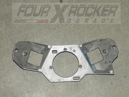Staffa piastra supporto accoppiamento devioluci Range Rover 2 P38