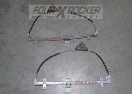 Macchinette meccanismo alzacristalli alzavetri manuali anteriori Nissan Terrano 2 97-99 3 porte