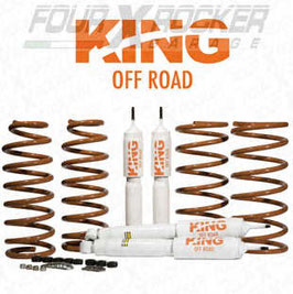 ASSETTO KIT RIALZO KING OFF ROAD +5cm LAND ROVER DEFENDER 90
