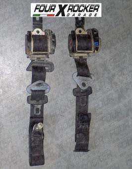 Coppia cinture di sicurezza posteriore Nissan Terrano 2 3 porte 97-99