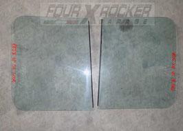 Vetri cristalli posteriori scorrevoli Mitsubishi Pajero 2 (V20) - 3 porte