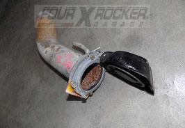 Tubo imbocco immissione carburante + tappo serbatoio carburante Range Rover Classic 2.4td