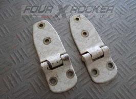 Coppia cerniere portiere anteriori Suzuki Samurai - SJ - tutti  i modelli