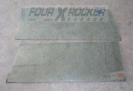 Vetri cristalli fissi laterali posteriori Jeep Cherokee XJ  3 porte