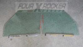 Vetri cristalli scendenti portiere anteriori Land Rover Discovery 1 300tdi 3 porte