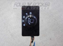 Interruttore regola fari proiettori Suzuki Vitara 89-95