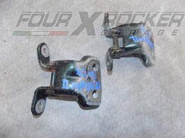 Coppia cerniere portiere sportelli anteriori Nissan Terrano 2 97-99 - 3 porte