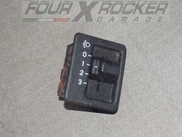Pulsante interruttore regolazione altezza fari Jeep Cherokee XJ 97/01