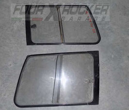 Vetri cristalli posteriori scorrevoli completi di guarnizioni Mitsubishi Pajero 2 (V20) - 5 porte
