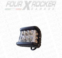 FARO LAMPADA A LED COMBO 36W COMBINATA LUCE LED FRONTALE LUCE LED LATERALE 4860 LM