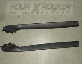 Coppia cover finiture superiori interne lunotto portellone posteriore MXC8462 - MXC8463 Range Rover 2 P38