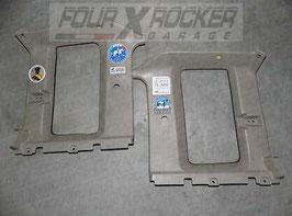 Coppia kit pannelli cornici posteriori superiori abitacolo Nissan King Cab D21