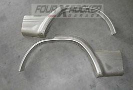 Coppia modanatura giroparafango sportelli porte posteriori MItsubishi Pajero 2 GLS