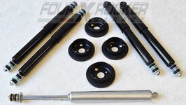 ASSETTO KIT RIALZO UPGRADE +2,5CM per LAND ROVER DEFENDER 90 - DISCOVERY 1 - RANGE ROVER CLASSIC/ FXR011217
