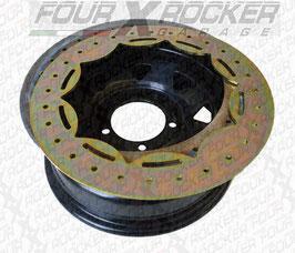 CERCHIO SCAMPANATO NERO CON BEADLOCK 7x16-20  / FXR-TY15552B