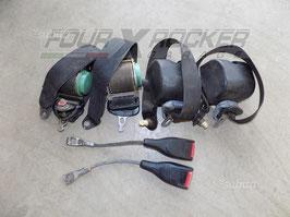 Coppia cinture di sicurezza anteriori / posteriori Suzuki Samurai - Santana - SJ cabrio