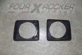 Coppia mascherine fari Suzuki SJ 410 -  SJ 413 (1' serie)