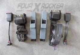 Coppia cinture di sicurezza anteriori + starter Land Rover Discovery 1 200tdi 5 porte