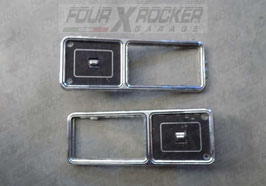 Cover coperchio maniglie apriporta interne sportelli posteriori Jeep Cherokee XJ 5 porte 84-96