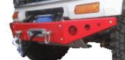 PARAURTI ANTERIORE CON PORTAVERICELLO TOYOTA LAND CRUISER KZJ70 - LJ70 / FXR-150113